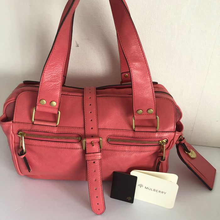 the cheapest delicate colors nice cheap Mulberry - Mabel soft spongy lipstick leather bag - Catawiki