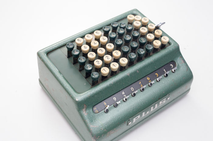 Bell Punch Plus Mechanical Calculator (Made in England)