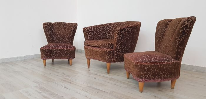 Unknown producer - Set of armchairs