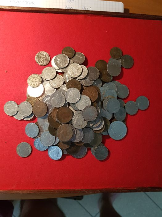 Kingdom of Italy - Lot of 203 coins - Vittorio Emanuele III