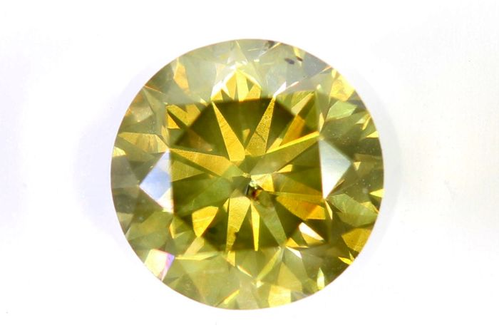 AIG Sealed Diamond - 0.70 ct - Fancy Brownish Yellow