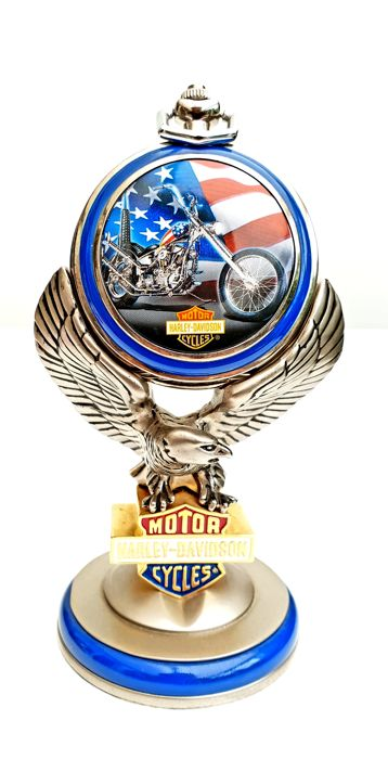 "Official Collector's Harley Davidson ""Ultimate Chopper"" from Easy Rider watch  on Original Stand"
