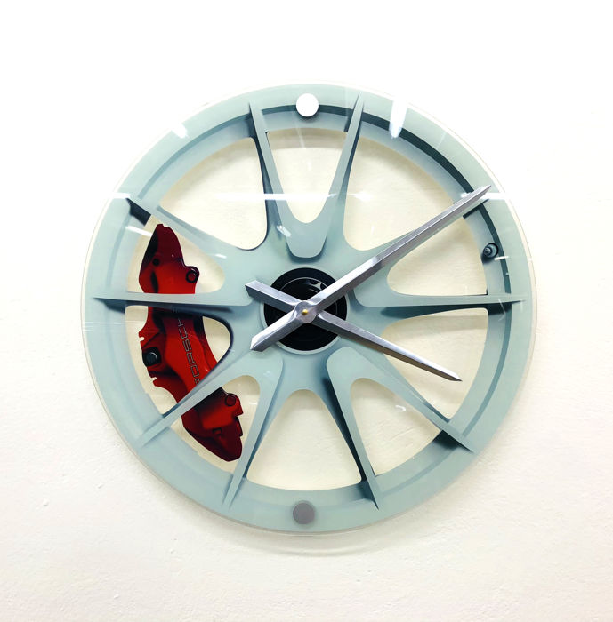 SL - Wall Clock Porsche Wheel