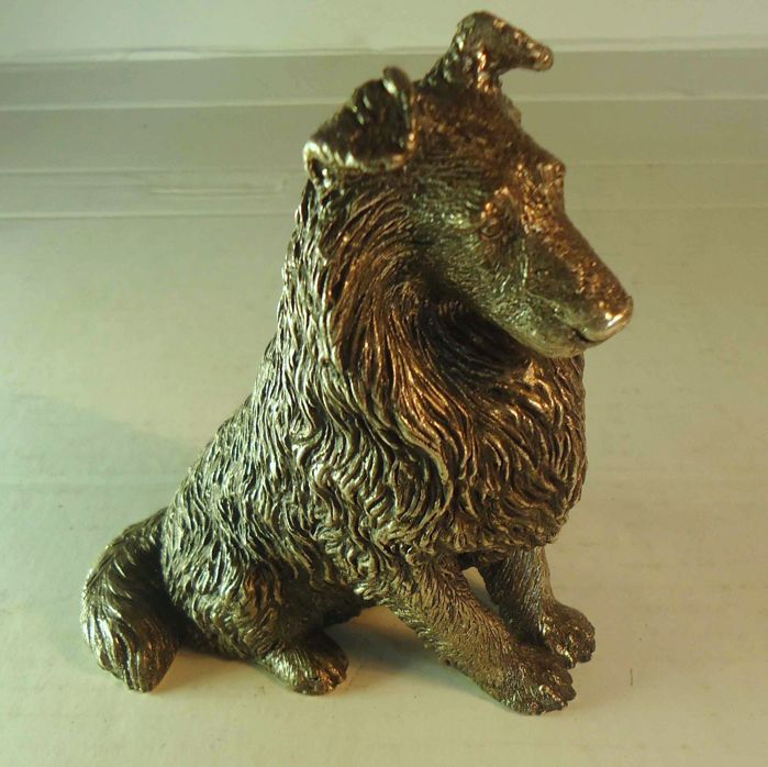 Dog in silver Eagle hallmark 925/1000 from Portugal