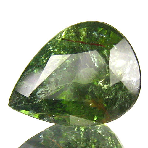 """Paraiba"" Tourmaline - 3.54 Carat - Brownish green - No Reserve"