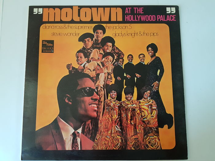Soul / Funk / Blues : 7 VA LP's from Motown with Diana Ross, till Fats Domino and Ray Charles.