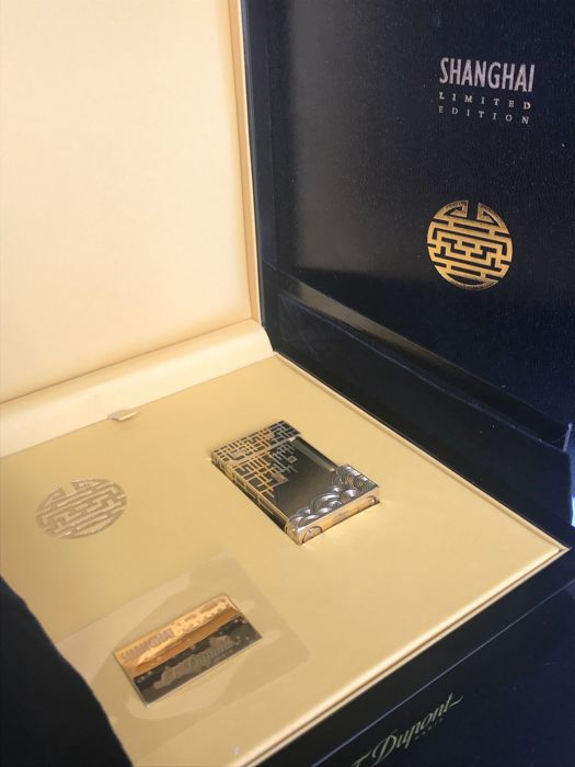 S.T Dupont lighter - SHANGHAI 2009 collection - limited edition - 1088 ex