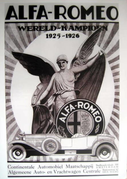 Objeto decorativo - Alfa Romeo - World Champion  - 1926 (1 artigos)