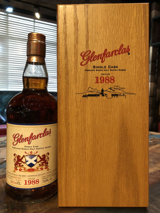 Glenfarclas 1988 Single Cask Strength - A Rare 25 Year Old OB