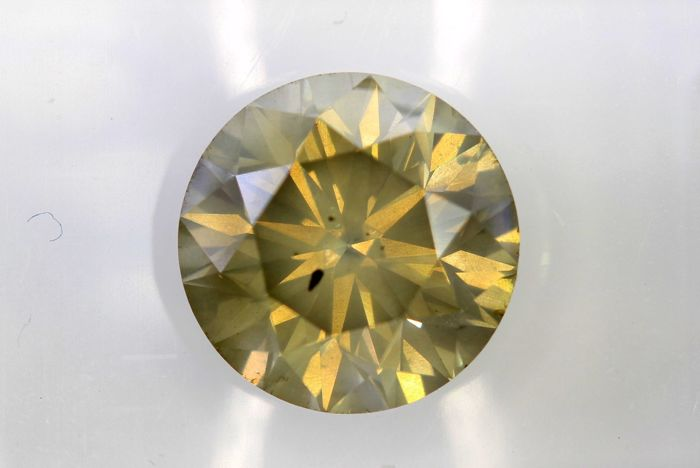 AIG Sealed Diamant - 2.14 ct - Fancy Light  Brown