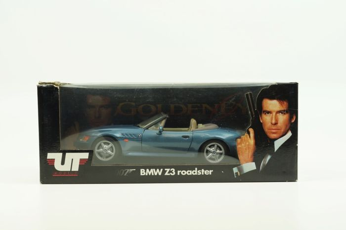 Ut 1 18 Bmw Z3 Cabrio Quot James Bond 007 Quot 1996 Blauw