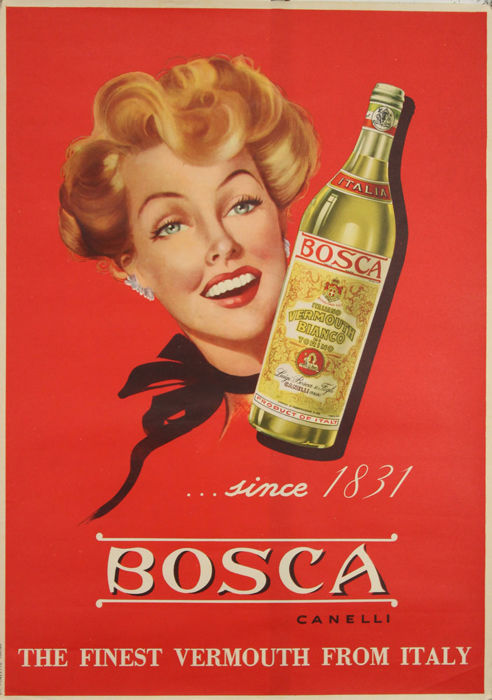 Anonymous - Bosca, the finest Vermouth from Italy - Anni '50