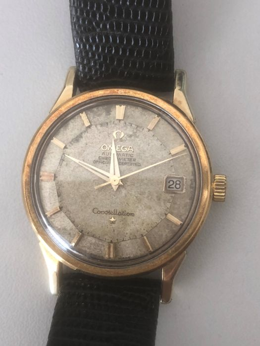 Omega - Constellation con datario Pie Pan - Heren - 1960-1969