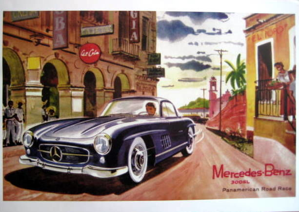 Decorative object - Mercedes-Benz 300SL Panamericana - Limited 50 Pcs. - 1954 (1 items)