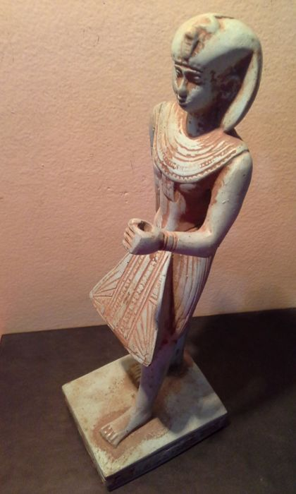 Egyptian statue of pharaoh Horemheb