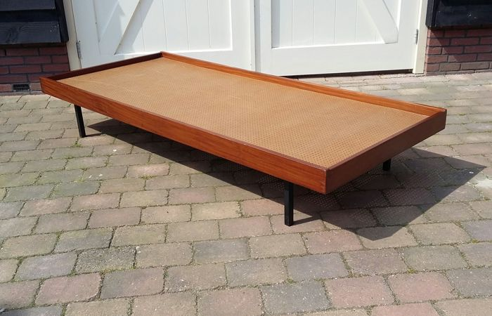 Producer unknown - teak daybed with drawers