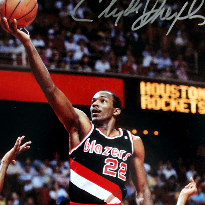 Portland Trail Blazers Number 27: Signed Photo Trail Blazers Portland