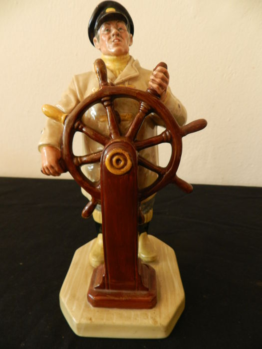 Royal Doulton - Sea Characters figurine - The Helmsman