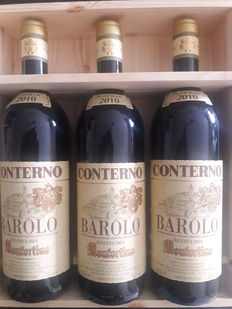 2010 Monfortino - 3 bottles(75cl) in OWC