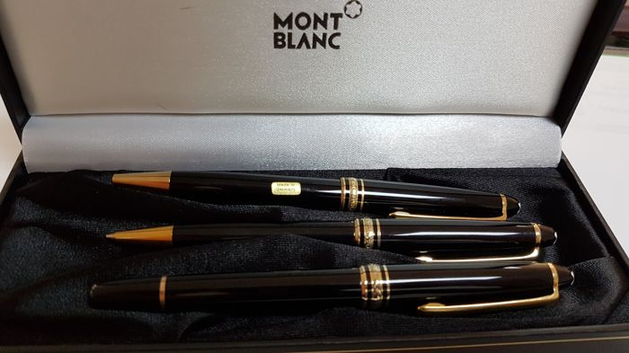 Montblanc rollerball pen ballpoınt pen mechanical pen set