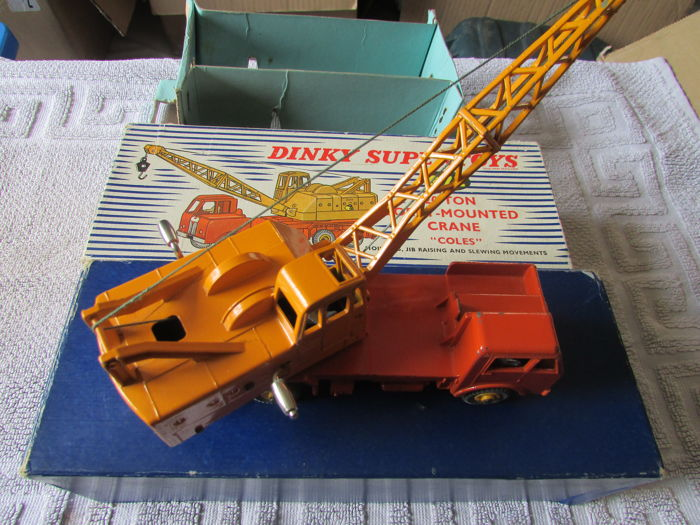Toys That Are 48 20 : Dinky toys ton lorry mounted crane coles