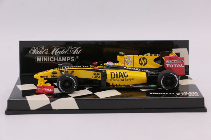 minichamps.renault f1 team 2010.r30