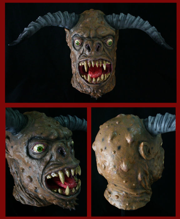 Beast Head IV - (full-size sculpture)