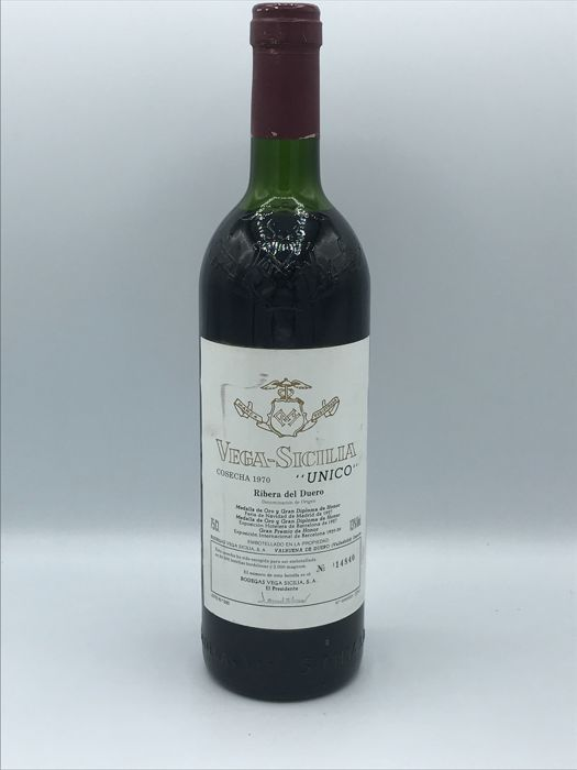 1970 Vega Sicilia Unico - 1 bottle (75cl)
