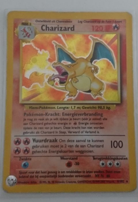Pokemon Card - Charizard