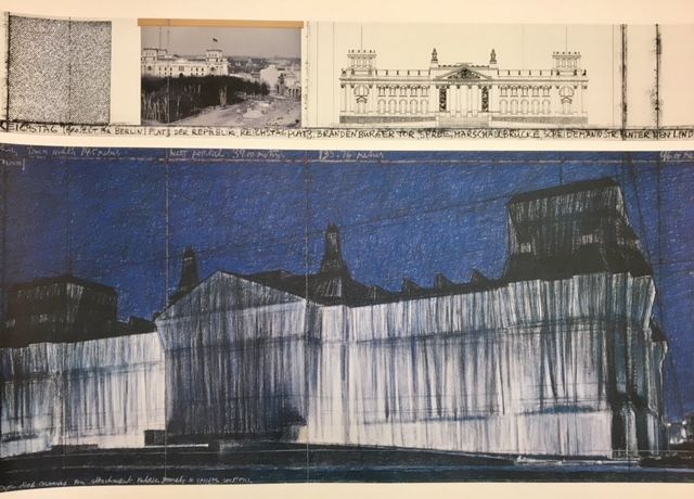 Christo - Christo - Wrapped Reichstag, Project for Berlin -