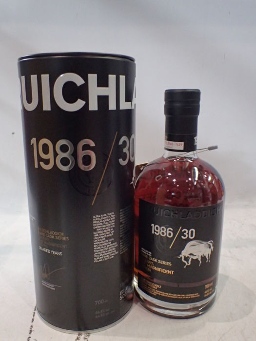 Bruichladdich 1986 30 years old The Magnificent Seven - Rare Cask Series - 70 cl