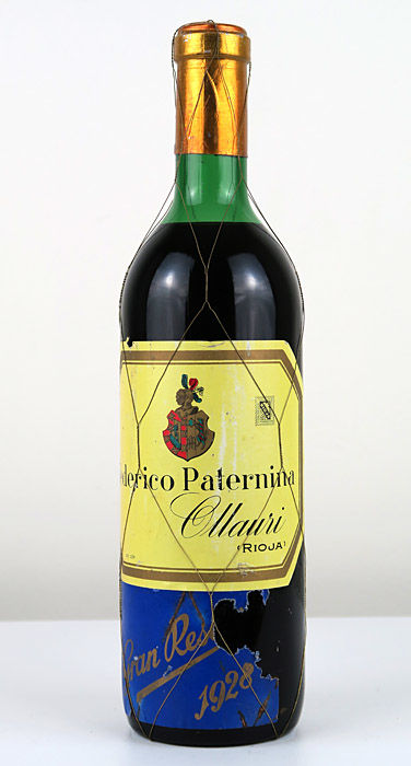 1928 Paternina Gran Reserva - Federico Paternina- 1 bottle (75 cl.)