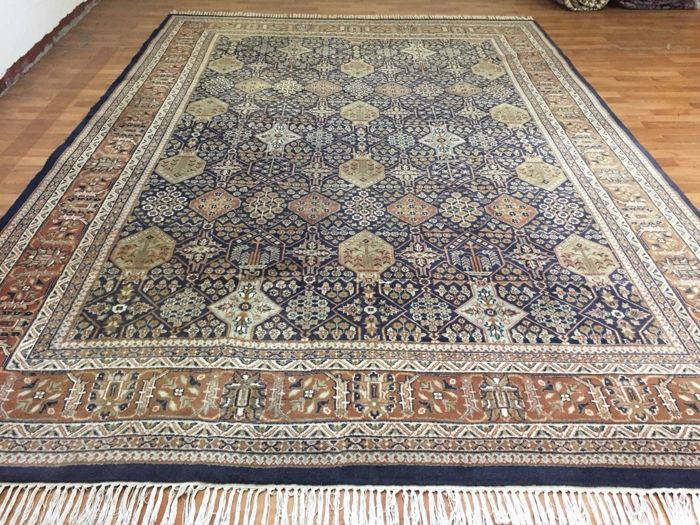 Oriental carpet Persian carpet Qom carpet rug 350 x 245 cm