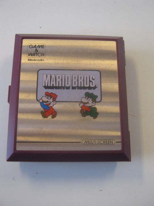 Nintendo Game & Watch: Mario Bros