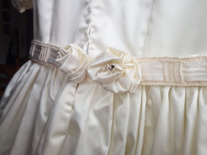 Girl First Communion dress - antique style