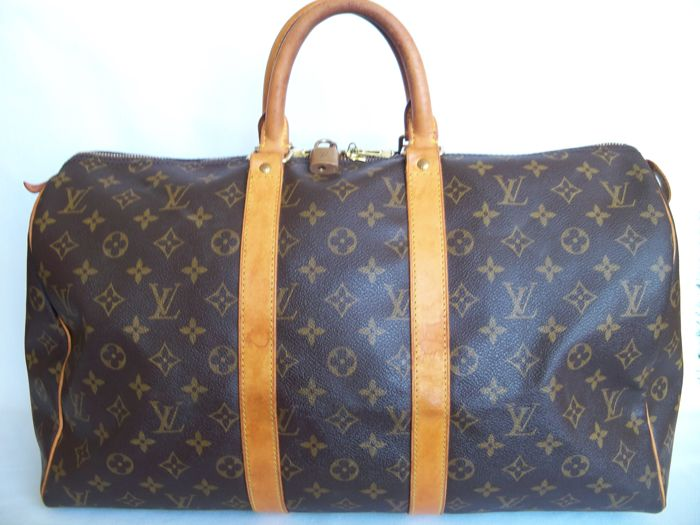 Louis Vuitton - Keepall 45 Luggage bag + LV Accessory -  No Reserve price  17084dbd269