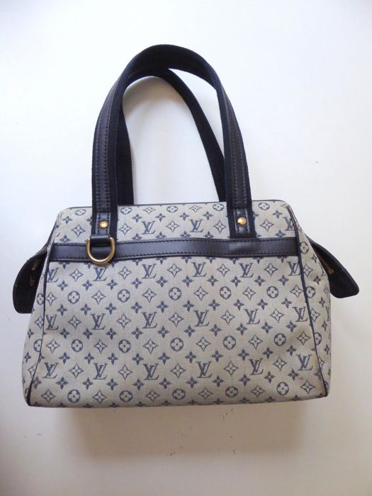 9a7abab29bf Louis Vuitton - Josephine GM Monogram Canvas Blue Shoulder bag - Catawiki