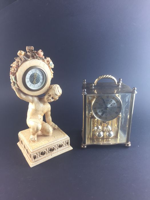 Two exclusive table clocks