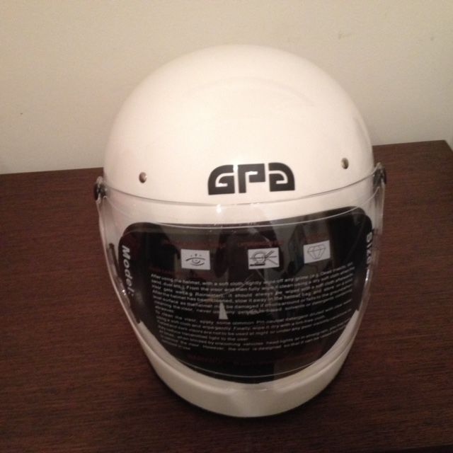 Full Face Classic GPA Helmet Fully Rebuilt