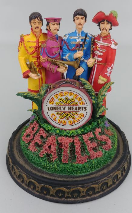 The Beatles Sgt Pepper's Lonely Hearts Music Box