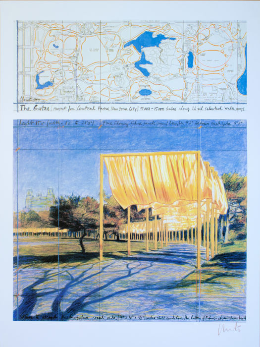 Christo and Jeanne-Claude - The Gates