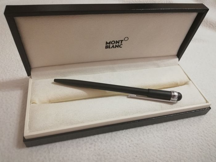 Montblanc Scenium New Edition black and platinum