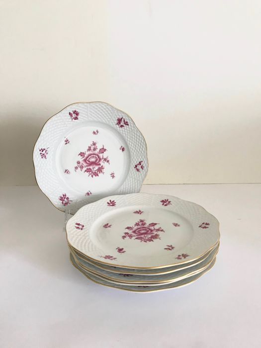 Herend - 6 Salad Plates