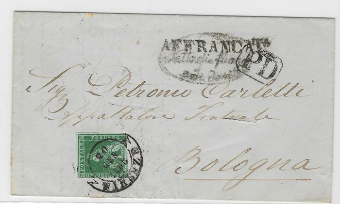 Italian Old State 1818/1926 - Selection of 15 letters and envelopes some with franking and some from the pre-philatelic period