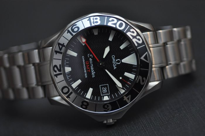 Omega - Seamaster GMT Stainless Steel Automatic Diver - 2534.50 - Heren - 2011-heden
