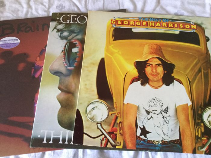 Beautiful Lot of George Harrison including two Limited edition Picture Discs
