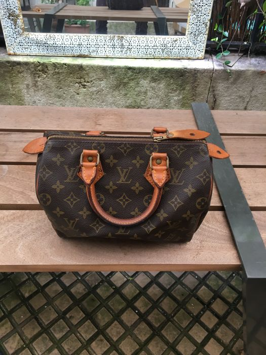 Louis Vuitton - Monogram Speedy 25 Handtas - Vintage