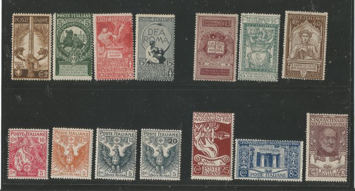 Italy Kingdom - 1911/1922 - Commemorativi