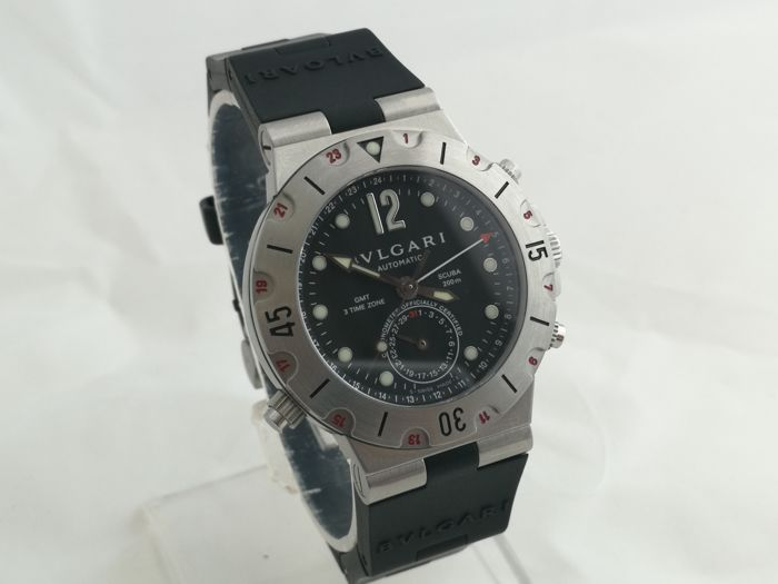 Bvlgari - Diagono GMT - SD 38 S GMT - Men - 2011-present