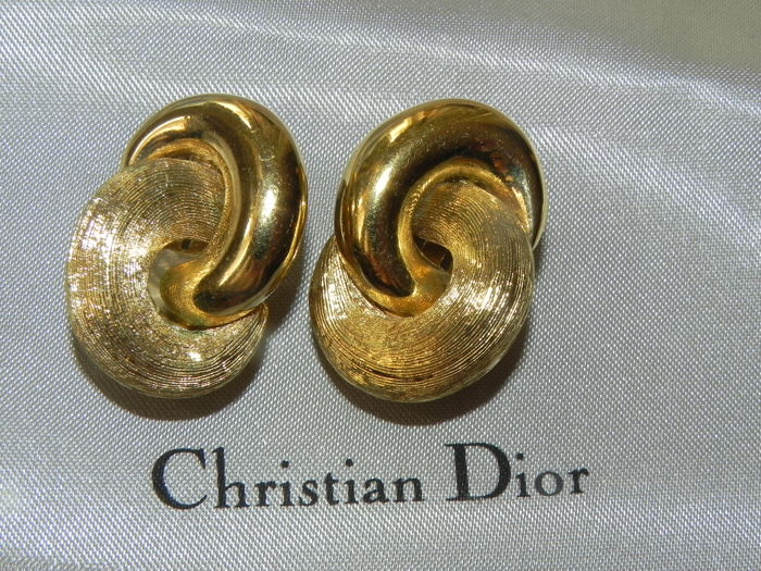 Christian Dior - oor clips